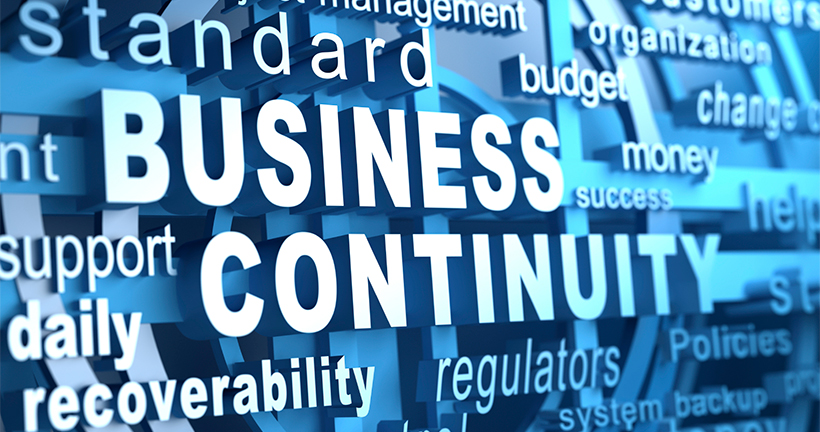 Business continuity plan for it